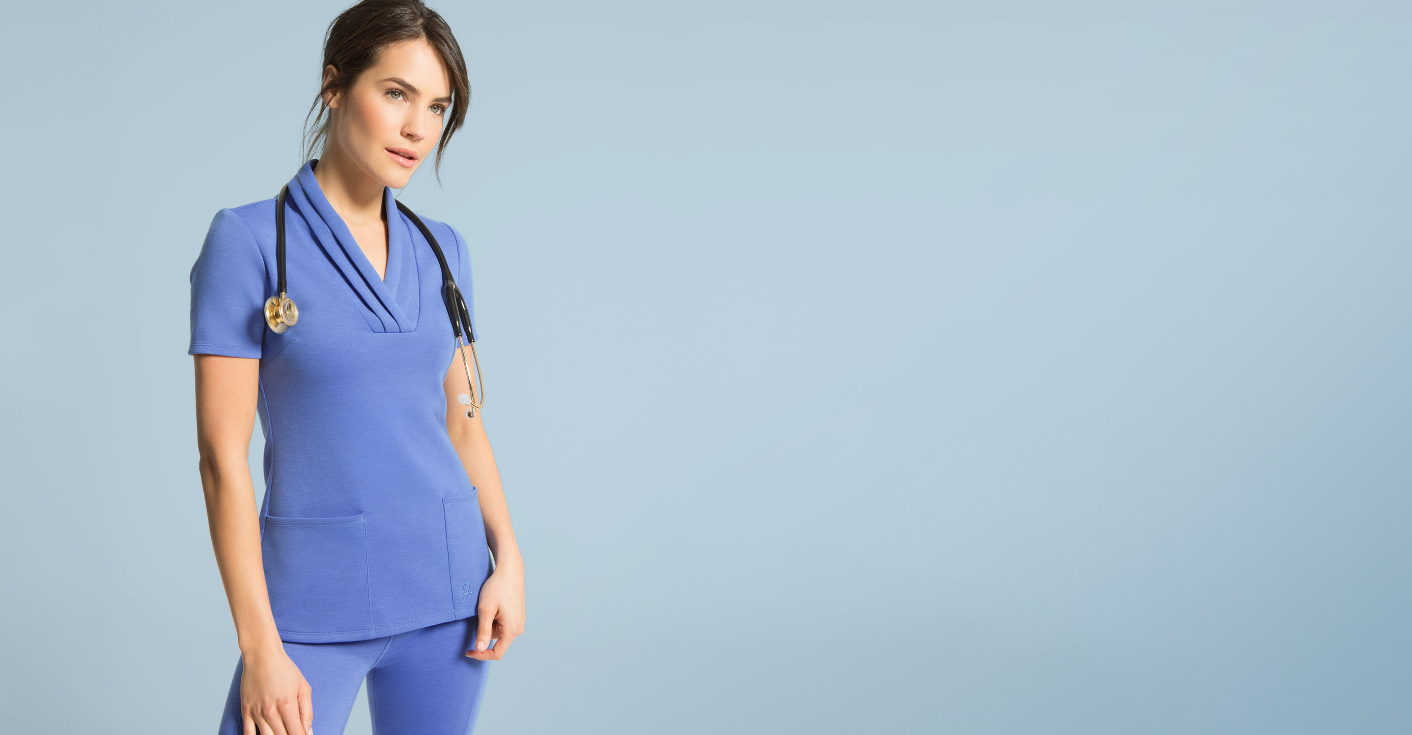 jacket up tgr ceilings health view indulgence sil dv fit side sale products color jr scrubs pocket warm ceil grace multi blue