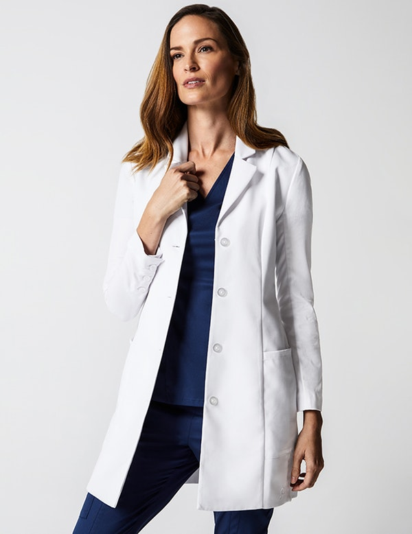 c996b74b762 Grace Lab Coat in White - Lab Coats by Jaanuu