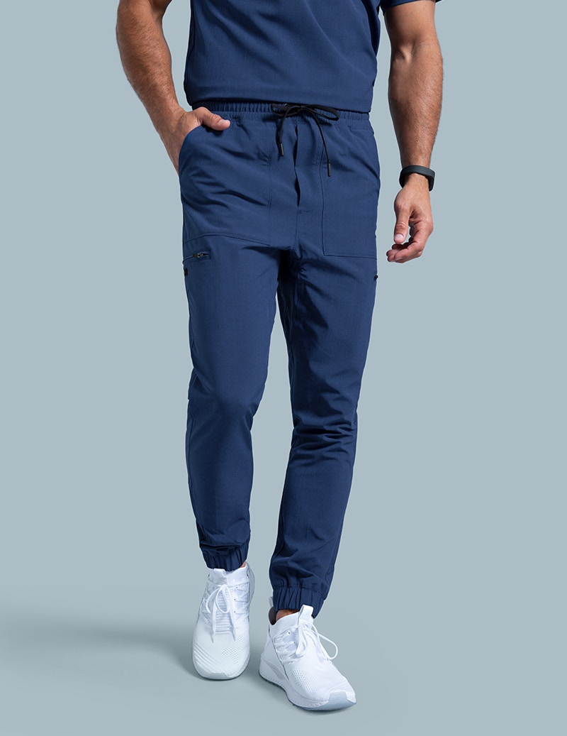 ad8db78b2 Jogger Pant in Estate Navy Blue - Medical Scrubs by Jaanuu