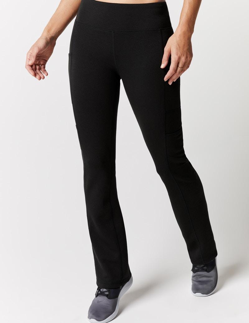 37026d01fa Yoga Pant in Black - Medical Scrubs by Jaanuu