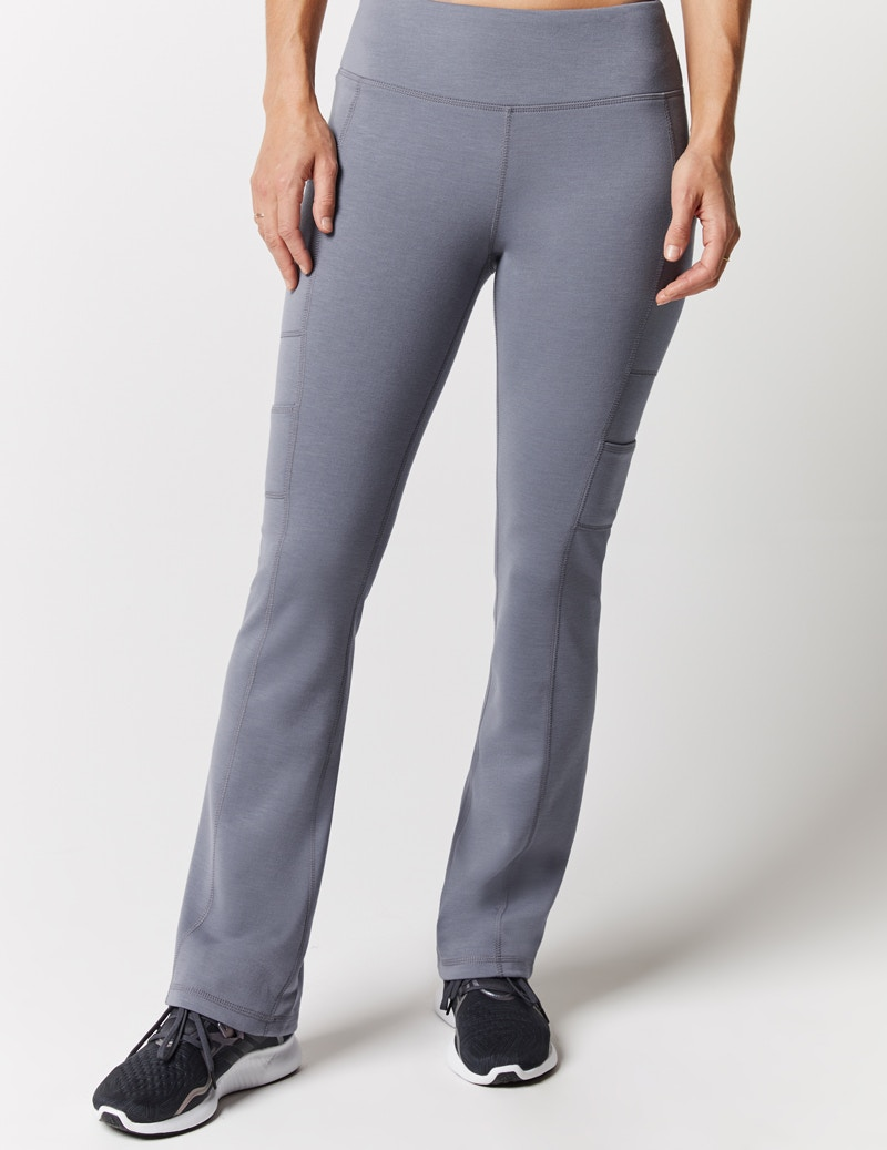 b7bb06fde3a Yoga Pant in Graphite - Medical Scrubs by Jaanuu