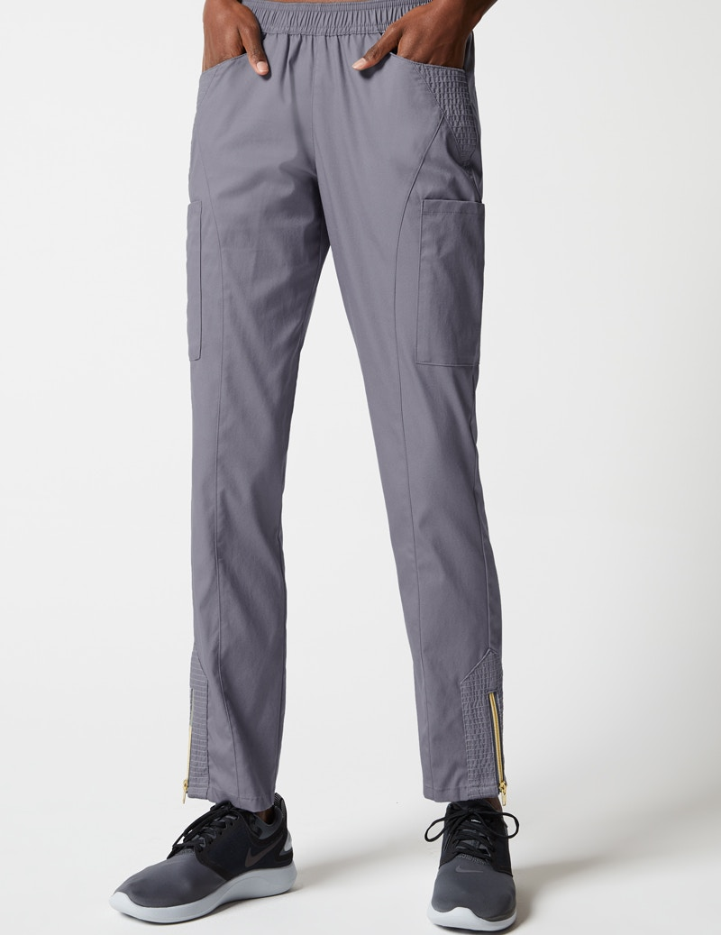 29cc0f28192 Moto Pant in Graphite - Medical Scrubs by Jaanuu