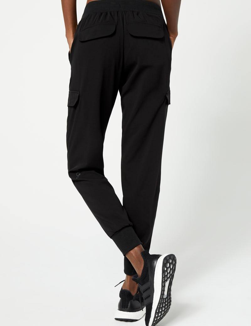 4f19c88fa Cargo Jogger Pant in Black - Medical Scrubs by Jaanuu