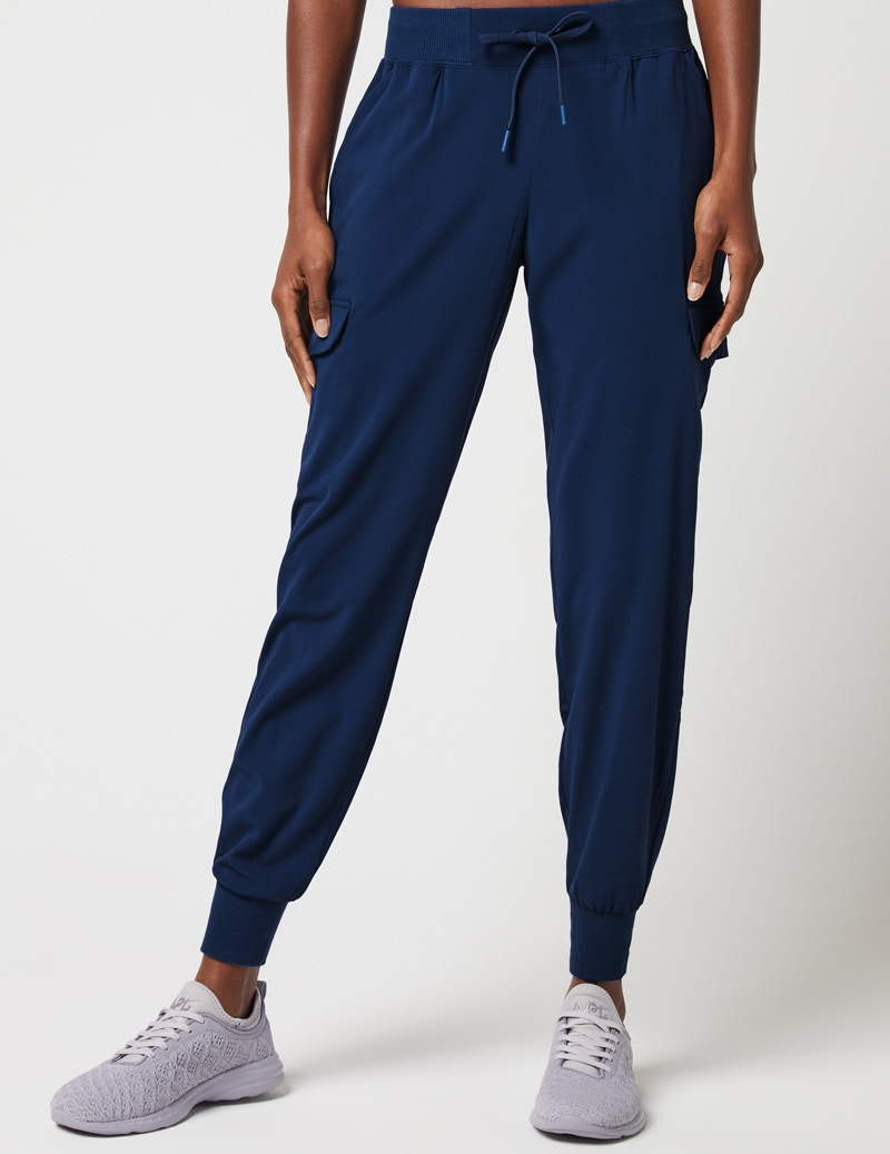 cbeeb7ddc Cargo Jogger Pant in Estate Navy Blue - Medical Scrubs by Jaanuu