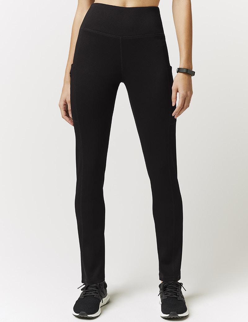 bdb4116ecd Skinny High Waist Yoga Pant in Black - Medical Scrubs by Jaanuu