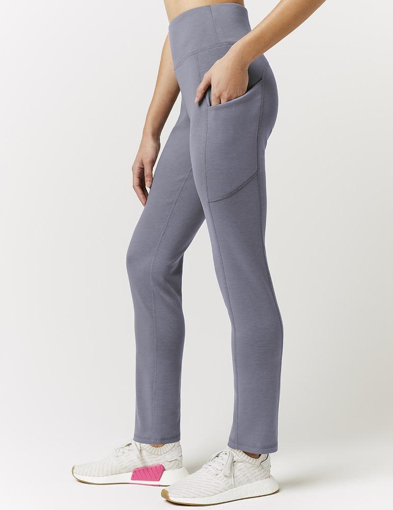 fd7b05c0bc Skinny High Waist Yoga Pant in Graphite - Medical Scrubs by Jaanuu