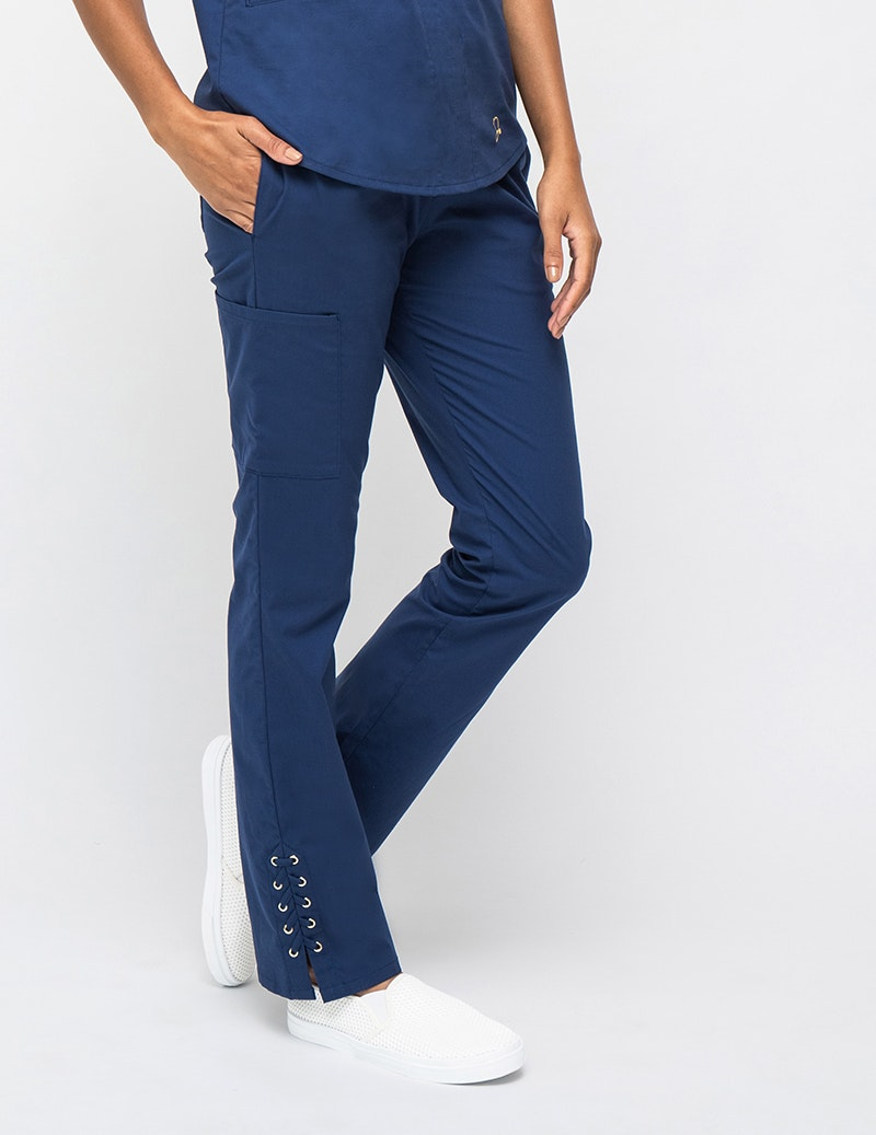 The Lace-Up Pant