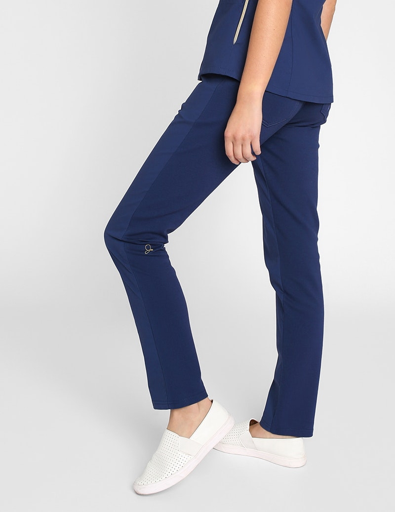 The Contrast Ponte Pant
