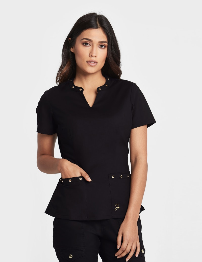 The Eyelet Top